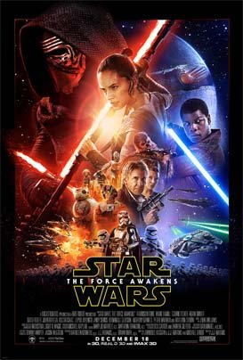 Star Wars - The Force Awakens Filmaffisch